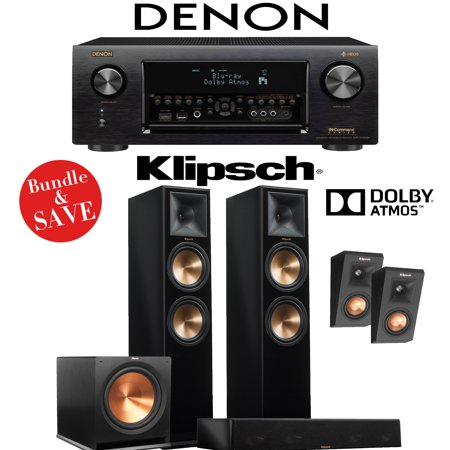 DENON AVR-X4400H RECEIVER + KLIPSCH RP-280FP + KLIPSCH R-115SW + KLIPSCH  RP-450C + KLIPSCH RP-140SA