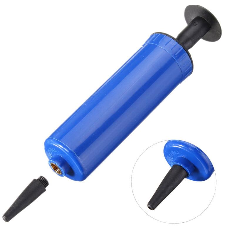 Soccer Football Basketball Volleyball Compact Inflator Hand Air Pump + Needle Adapter