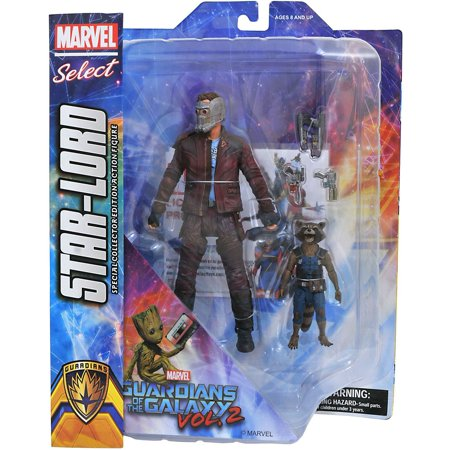 Marvel Select Star-Lord & Rocket Raccoon Action Figure (Rocket Raccoon Figure)