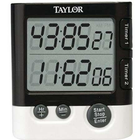 Taylor Dual Event Digital Clock/Timer