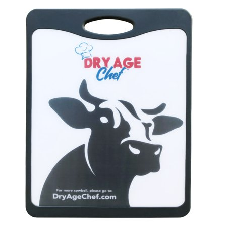Large Beef Rack, Dry Aging Pan, Chefs Knife, Cutting Board Combo by Dry Age (Dry Aged Beef)