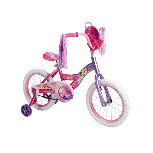 Huffy 16 in. Disney Princess Bike with Jewel Case and Accessories