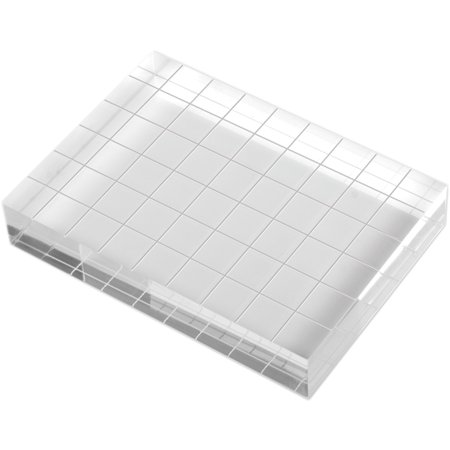 Sizzix 661658  Clear Acrylic Stamp Mount-