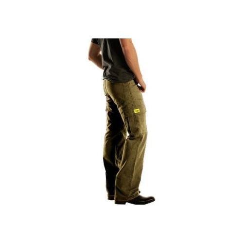 Drayko Cargo Jeans Khaki