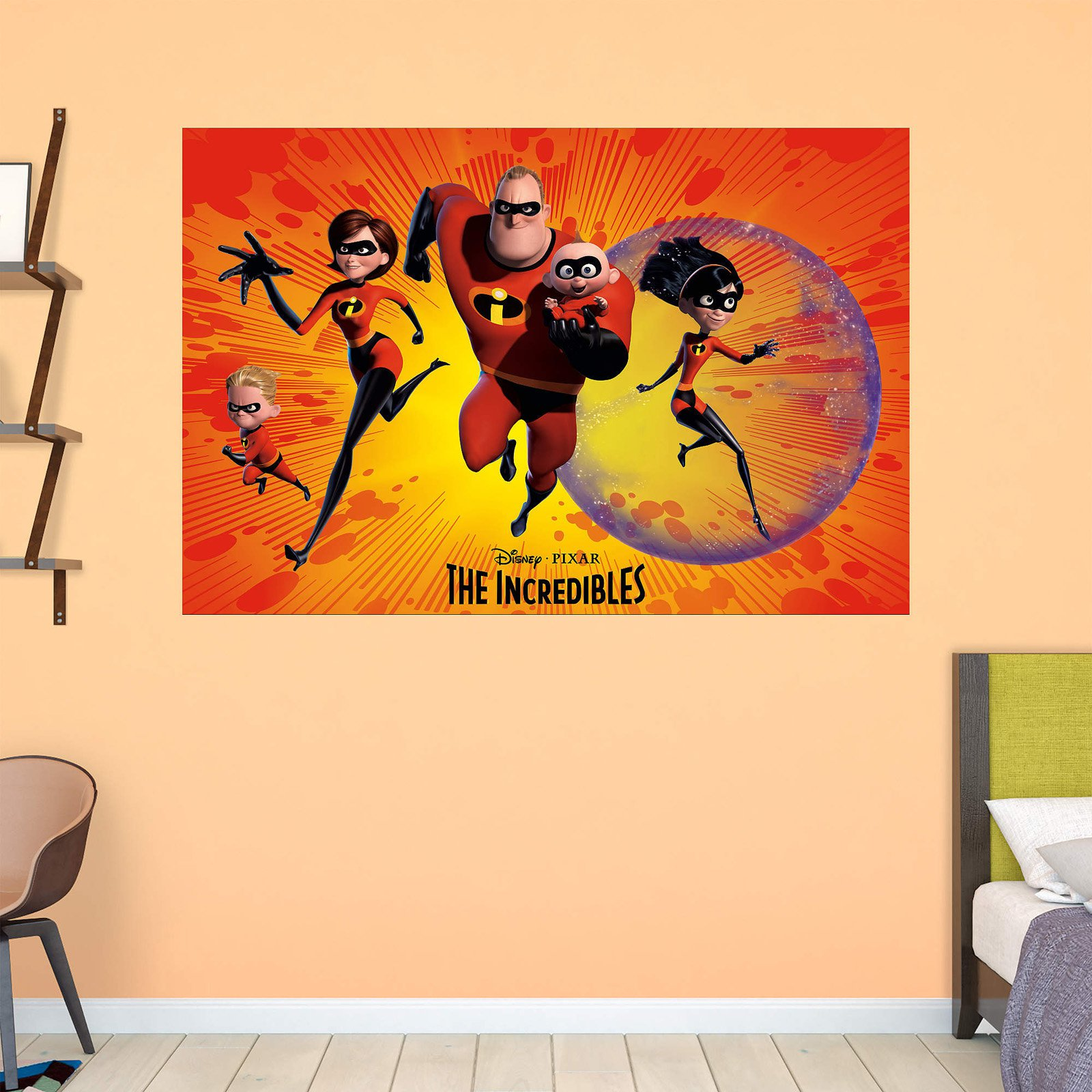 Fathead The Incredibles Wall Mural - Walmart.com