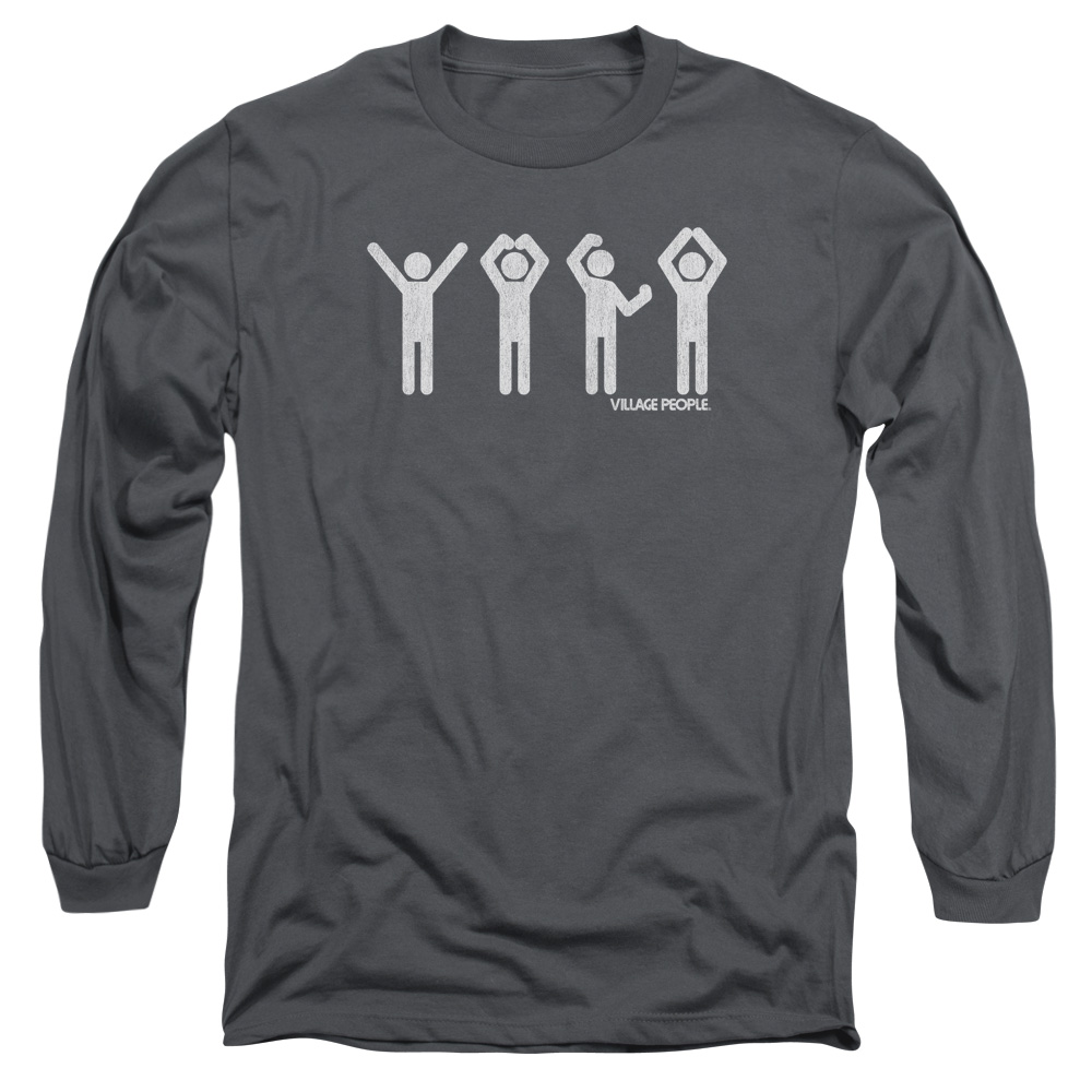 The Village People Ymca Mens Long Sleeve Shirt