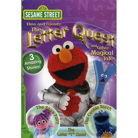Sesame Street: Elmo and Friends: The Letter Quest and Other Magical Tales (DVD)