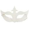 12 Count Bright Creations Blank DIY Masquerade Craft Half Masks for Halloween 6 Designs