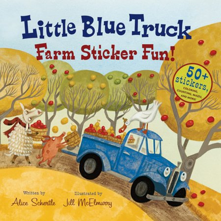 Little Blue Truck Farm Sticker Fun! - Ray Of Light Farm Halloween