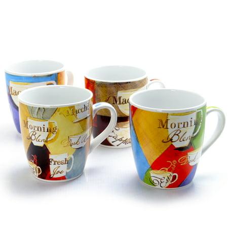 Joe Biden Mug - Cuppa Joe 27 oz 4 Piece Mug Gift Set in 4 Assorted Designs