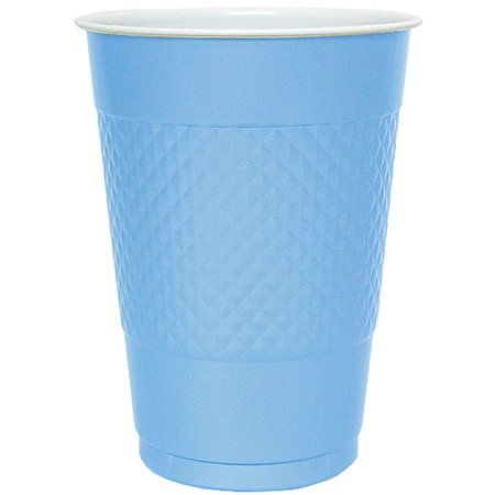 Hanna K Plastic Cups, , 16 Oz, Light Blue, 50 Ct for $<!---->