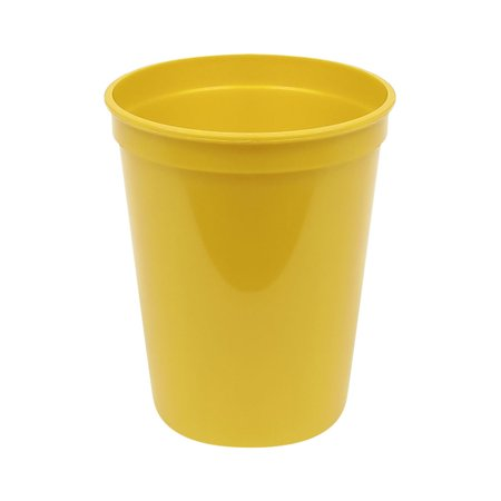 Plastic 16 oz stadium cup yellow (25) For PKG(25) - Stadium Cups
