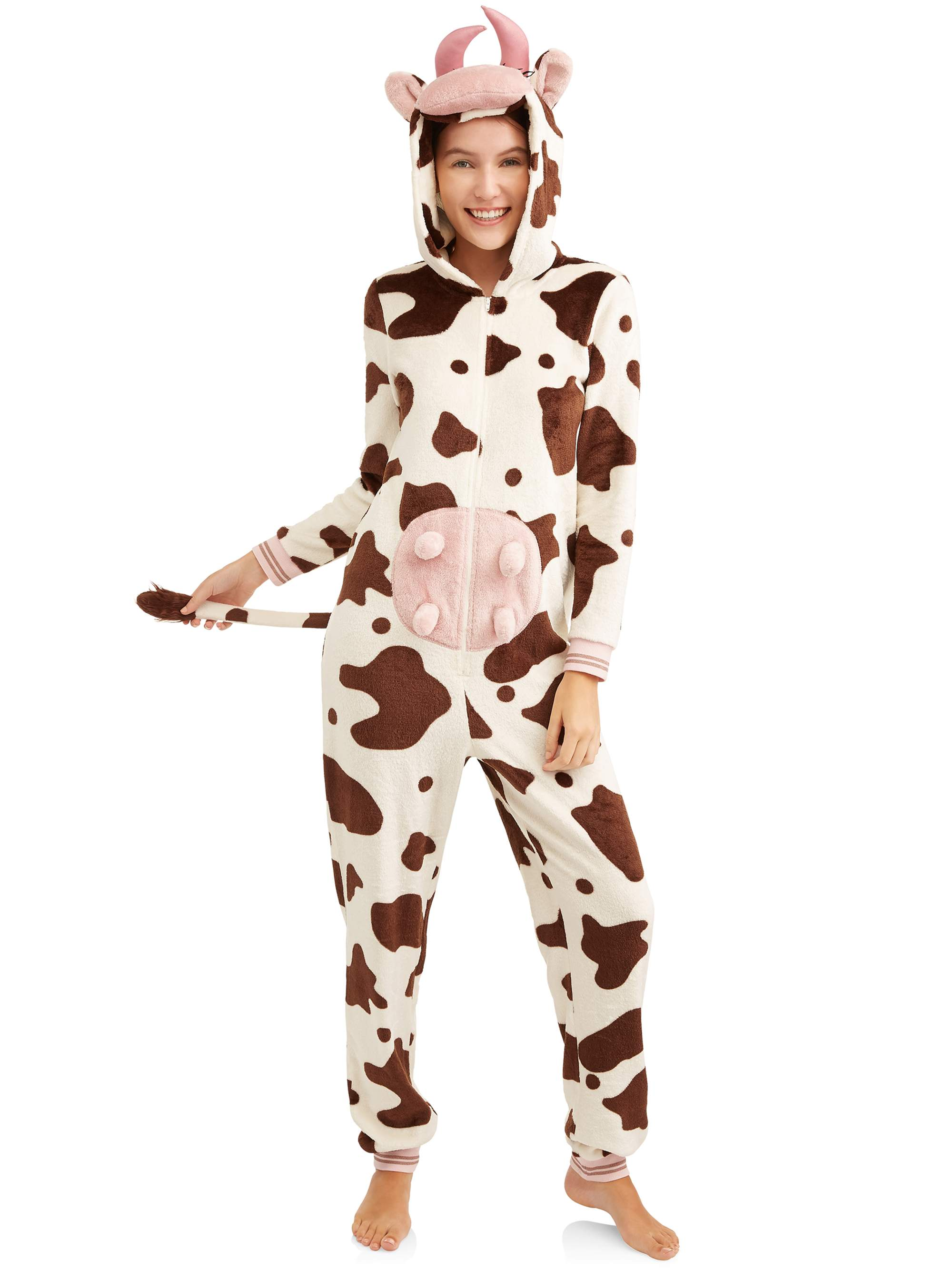 Secret Treasures Jammers Women's and Women's Plus Cow Union Suit