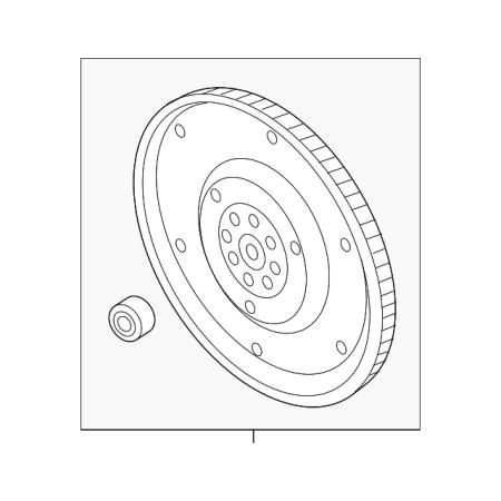 Genuine OE Subaru Flywheel (Subaru Flywheel)