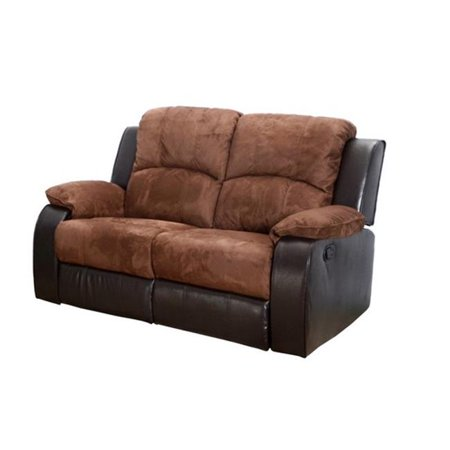 Lifestyle furniture lsf1003 l fulton reclining loveseat for Lifestyle furniture