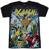 X-Men Gang Subway T-Shirt