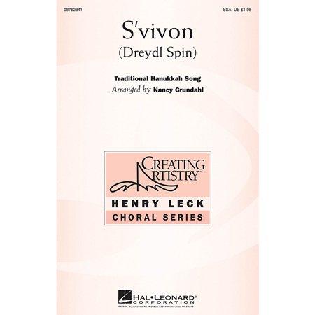Spin A Dreidel (Hal Leonard S'vivon (Dreidel Spin) (Dreydl Spin) SSA arranged by Nancy)