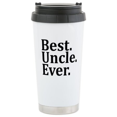CafePress - Best Uncle Ever. Travel Mug - Stainless Steel Travel Mug, Insulated 16 oz. Coffee (Best Insulated Coffee Tumbler)