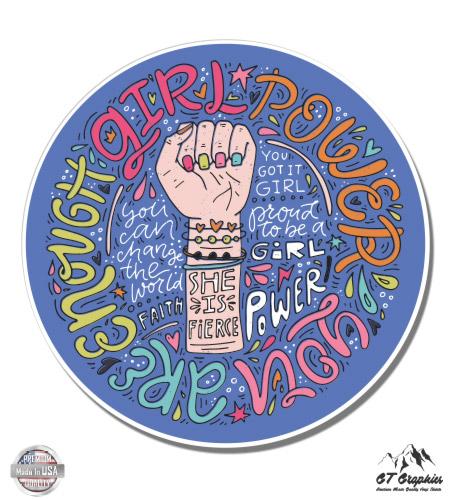 Black Power Fist Sticker Sticker Vinyl Bumper Sticker Decal Waterproof 5