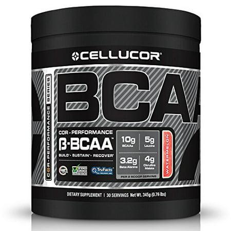poudre BCAA chaîne de branche Supplément acides aminés avec Beta Alanine et malate de citrulline 30 Portions melon d'eau