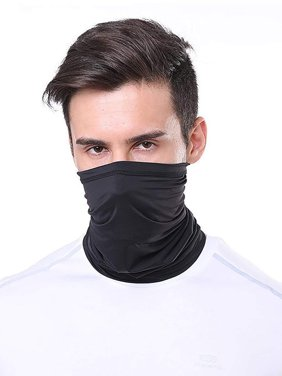 Breathable Stretch Face Mask Neck Gaiter Scarf Bandana