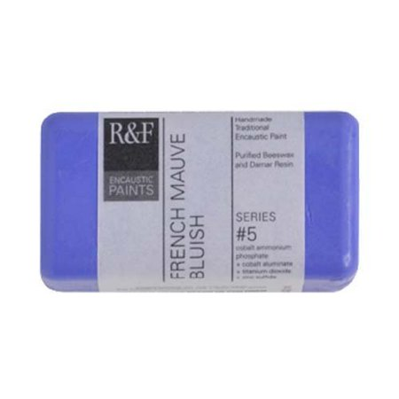 R&F Encaustic 40ml Paint, French Mauve Bluish