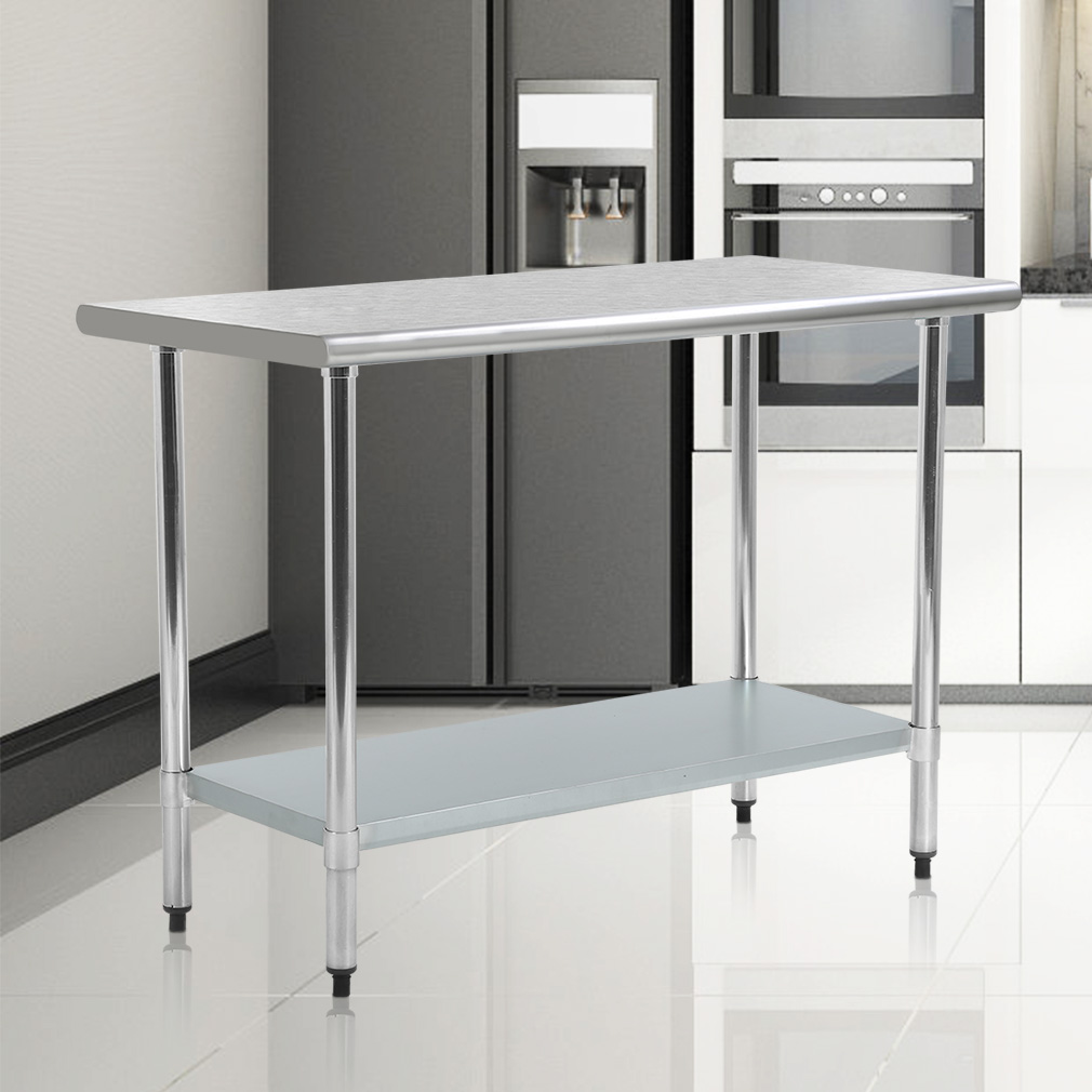 Stainless Steel Kitchen Work Table Commercial Restaurant Table, 24 X 48 inchs