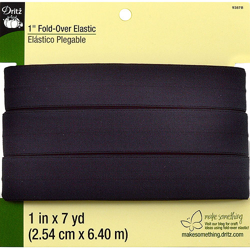 "Fold-Over Elastic, 1"" x 7 yds"