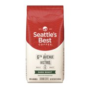 Seattles Best Coffee 6th Avenue Bistro (Previously Signature Blend No. 4) Dark Roast Ground Coffee 20-Ounce Bag