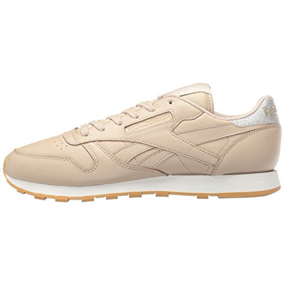 03f35ddc517 Reebok - Reebok Classic Leather Met Diamond Womens Shoes Oat Meal Chalk Gum  bd4424 - Walmart.com