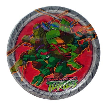 Teenage Mutant Ninja Turtles Small Paper Plates (8ct) - Paper Plate Turtle