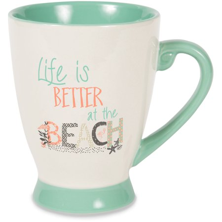 Pavilion - Life Is Better At The Beach - Large 18 oz Coffee Cup Mug