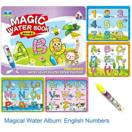 Children Educational Toys Magic Water Drawing Book Album Magic