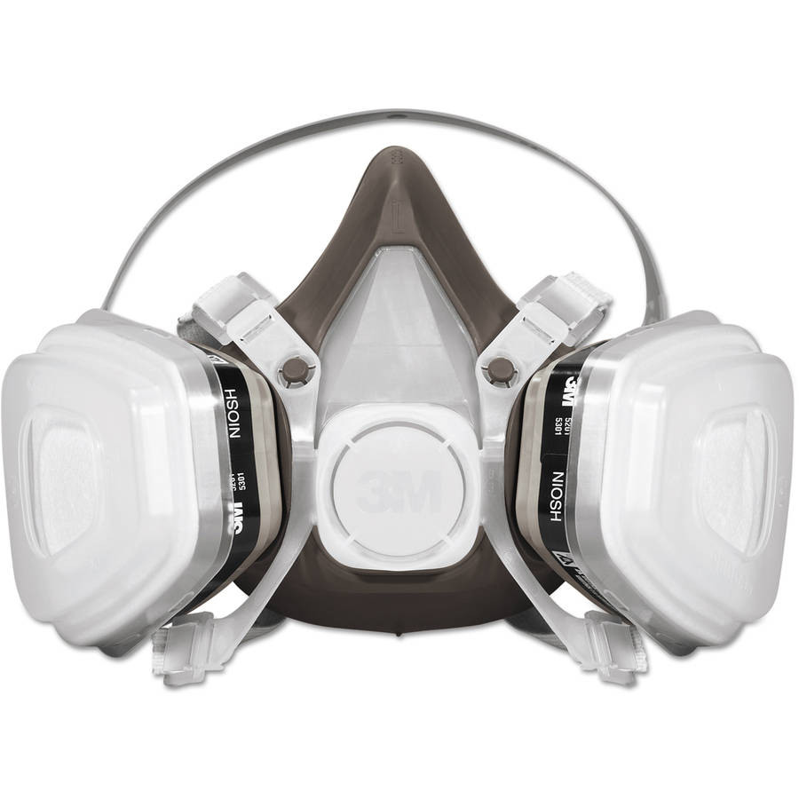 3M Half Facepiece Disposable Respirator Assembly