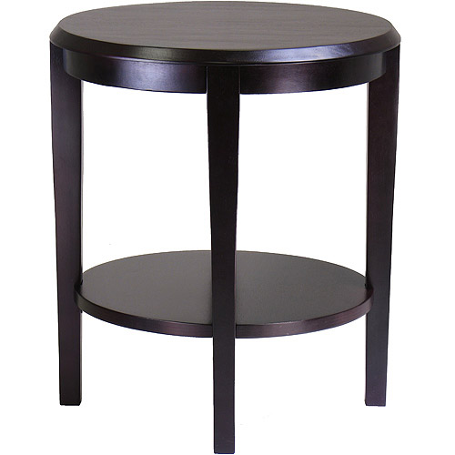 Nadia End Table, Dark Espresso