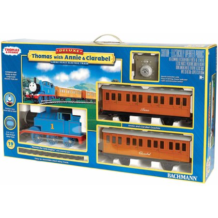 Bachmann Trains Thomas and Friends Thomas with Annie and Clarabel, Large