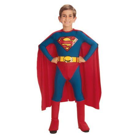 Classic Superman Child Costume - Small](Superman Costume For Adults)