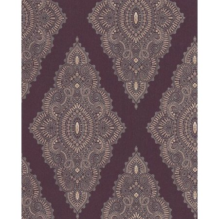 Graham Brown Fabulous 33 X 205 Geometric Flocked Wallpaper