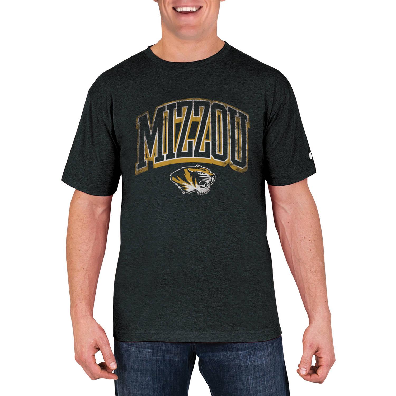 NCAA Missouri Tigers Men's Cotton/Poly Blend T-Shirt