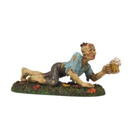 Department 56 Snow Village Halloween Zombie Pub Crawl Accessory Figurine, 1.18 inch - Halloween Zombie Yard