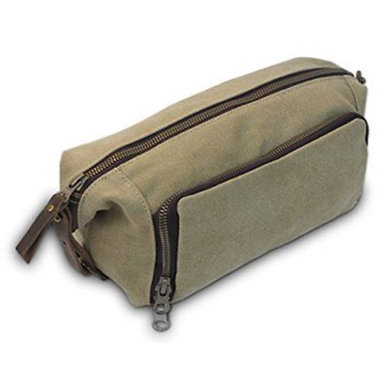 Habitoux - DOPP Kit Mens Toiletry Travel Bag YKK Zipper Canvas   Leather  Backpacks Bags - Walmart.com 2a5c142c4b