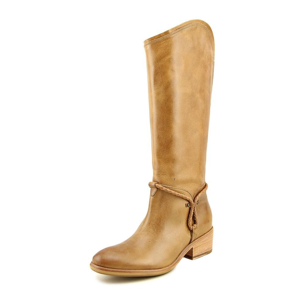 ariat calgary toe leather knee high boot