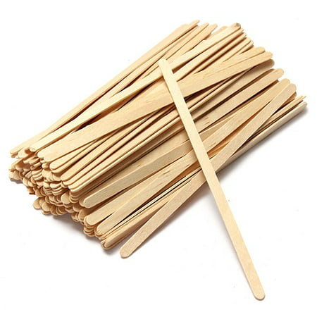 Wooden Coffee Stirrer (Crystalware Wood Coffee Stirrers, 1000ct, 7.5in)