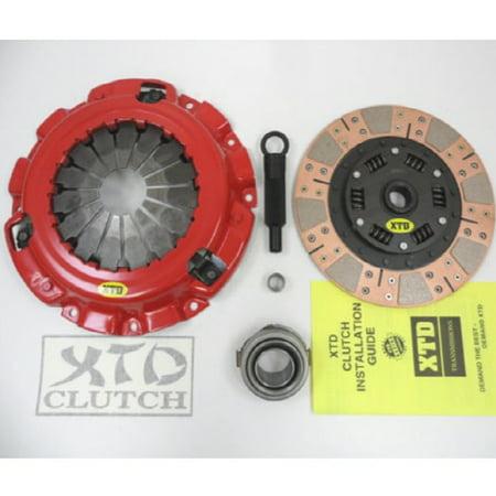 XTD PRO STAGE 3 DUAL MULTI FRICTION CLUTCH KIT 86-92 MAZDA RX7 RX-7 TURBO -