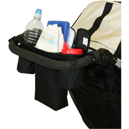 JL Childress - Cups 'N Cool Stroller Console with Cooler