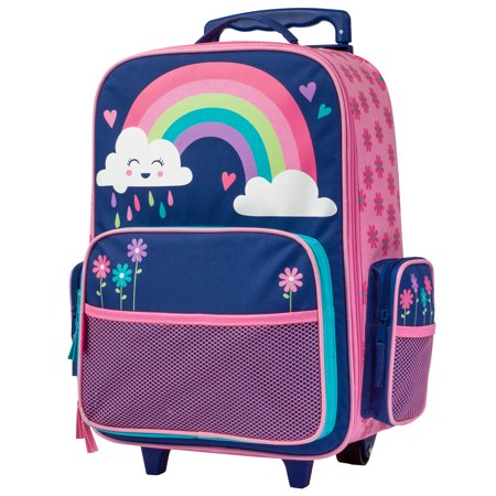 Classic Rolling Luggage, Rainbow (Classic Leather Luggage Collection)