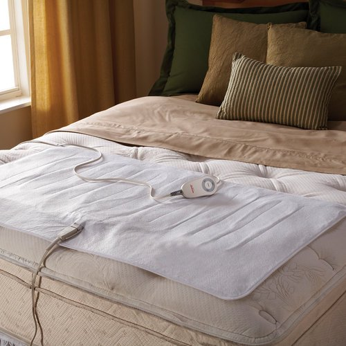 Sunbeam Comfy Toes Heated Foot Warming Mattress Pad