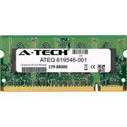 HP 619546-001 A-Tech Equivalent 2GB DDR2 800 PC2-6400 SODIMM Laptop Memory RAM