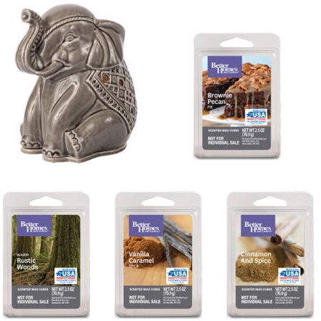 Better Homes & Gardens Elephant Full-Size Wax Warmer Starter Set