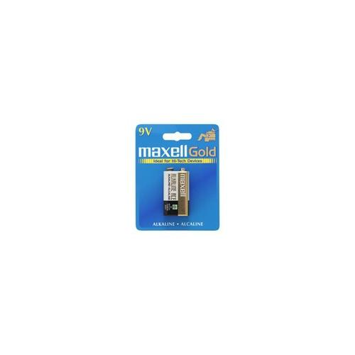 Maxell 9V DC Gold Alkaline Battery Pack 2Y67764
